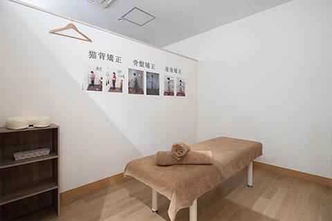 施術スペース(個室)